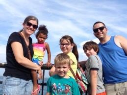 Family shot at Navy Pier
