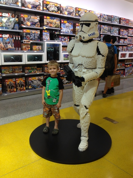 EC and Lego Storm Trooper