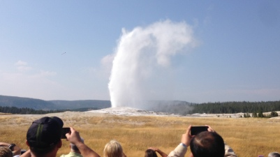 Old Faithful in action