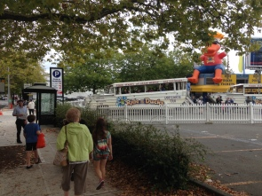 Meeting up at the Duck Tour