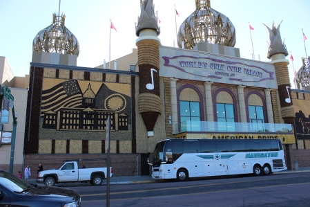 Our unexpected stop at the Corn Palace