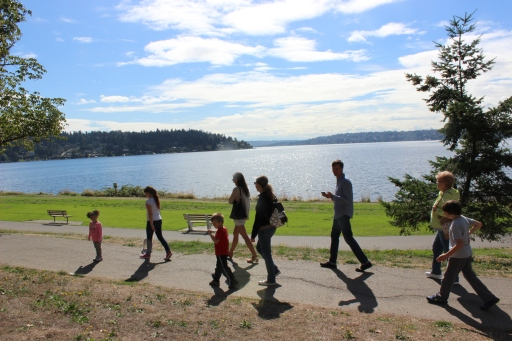 On our walk at Seward Park