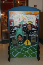 EL and Mom get a pic at the Children's Museum