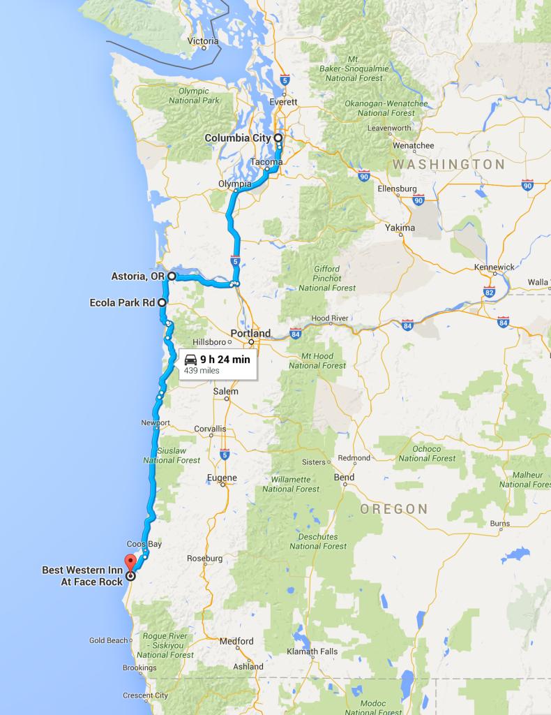 Seattle to southern Oregon