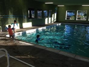 Swimming... again