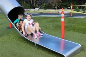 Slide train!