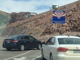 Parking at Hoover Dam